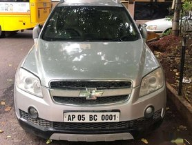 Used Chevrolet Captiva LT, 2008, Diesel MT for sale in Hyderabad