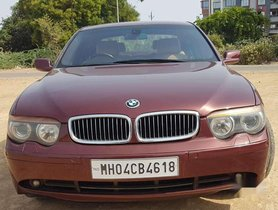BMW 7 Series 740Li Sedan, 2004, Petrol AT for sale in Navsari