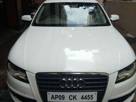 Used Audi A4 2.0 TDI Multitronic 2012 AT for sale in Visakhapatnam