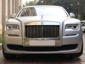 Used 2017 Rolls Royce Ghost AT for sale in Chandigarh