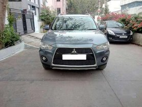 Mitsubishi Outlander 2.4 Chrome Ltd, 2011, Petrol MT in Hyderabad