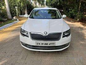 Used Skoda Superb 2.0 TDI PD AT car at low price in Coimbatore