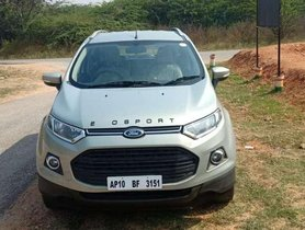 2013 Ford EcoSport  MT for sale at low price in Hyderabad