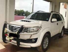 2014 Toyota Fortuner AT for sale at low price in Erode