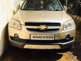 Used 2010 Chevrolet Captiva MT for sale in Pune