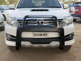2016 Toyota Fortuner MT for sale in Hyderabad