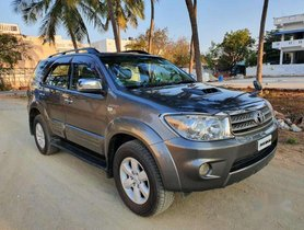 2010 Toyota Fortuner MT for sale in Tiruppur
