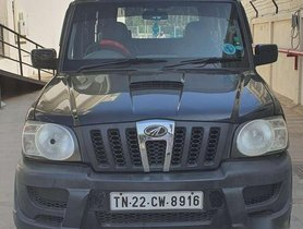 Used Mahindra Scorpio LX BS-IV, 2011, Diesel MT for sale in Coimbatore