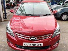 Hyundai Verna Fluidic 1.6 VTVT EX, 2016, Petrol MT for sale in Nagar