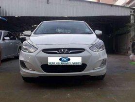 Used Hyundai Verna VTVT SX 1.6, 2015, Diesel MT for sale in Coimbatore
