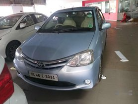 Used 2011 Toyota Etios G MT for sale in Thrissur