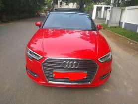 Used 2018 Audi A3 Cabriolet AT for sale in Chennai