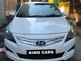Used 2015 Hyundai Verna 1.4 VTVT MT for sale in Pondicherry