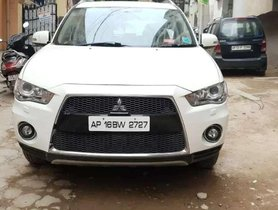 2010 Mitsubishi Outlander AT for sale in Hyderabad