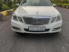 Used Mercedes Benz E Class AT for sale in Chandigarh at low price