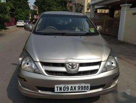 Used Toyota Innova 2.0 GX 8 STR 2012 MT for sale in Chennai