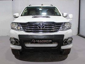 Used 2012 Toyota Fortuner AT for sale in Hyderabad