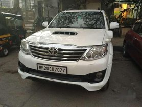 Used Toyota Fortuner 4x2 Manual 2013 MT for sale in Mumbai