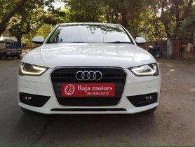 Audi A4 2.0 TDI (177bhp), Premium Plus, 2014, Diesel AT for sale in Ahmedabad