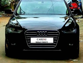 Used Audi A4 2.0 TDI Multitronic, 2016, Diesel AT for sale in Chennai