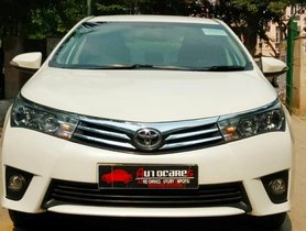 2014 Toyota Corolla Altis 1.8 G CVT Petrol AT in New Delhi