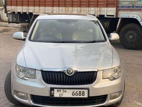 Used Skoda Superb Elegance 1.8 TSI Automatic, 2010, Petrol AT for sale in Hyderabad