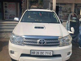 Used Toyota Fortuner 3.0 4x4 Manual, 2011, Diesel MT for sale in Chandigarh