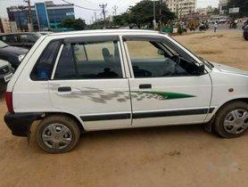 Used 2009 Maruti Suzuki 800 MT for sale in Hyderabad