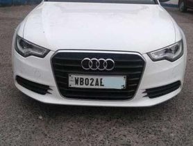 2013 Audi A6 2.0 TDI AT for sale at low price in Kolkata