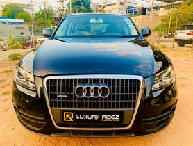 Used Audi Q5 AT 2008-2012 car at low price in Hyderabad