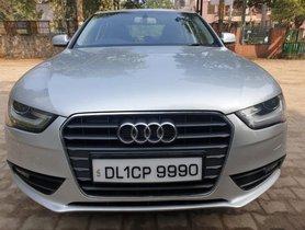 2013 Audi A4 2.0 TDI 177 Bhp Premium Plus AT for sale at low price in New Delhi