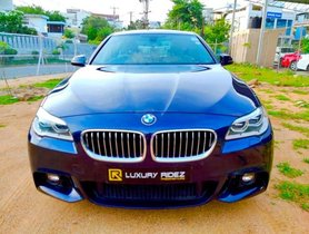 BMW 5 Series 2013-2017 2015 AT for sale in Hyderabad