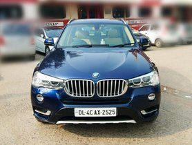 BMW X3 xDrive20d AT 2016 in New Delhi