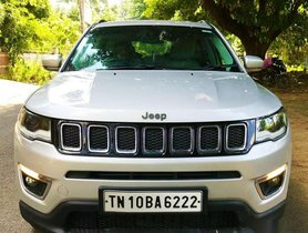 Used 2017 Jeep Compass 2.0 Limited MT for sale in Chennai