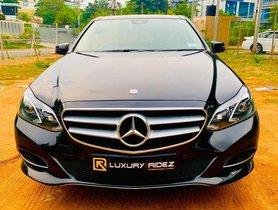 Used Mercedes Benz E-Class 2013-2015 E250 CDI Avantgrade AT 2014 in Hyderabad