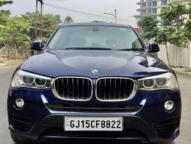 Used 2015 BMW X3 xDrive 20d Expedition AT for sale in Surat