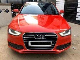 Used Audi A4 2.0 TDI 177 Bhp Premium Plus AT car at low price in Chennai