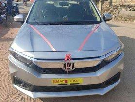 Used 2018 Honda Amaze MT car at low price in Hyderabad