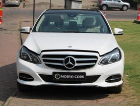 2016 Mercedes Benz E-Class AT 2015-2017 for sale at low price in Mumbai