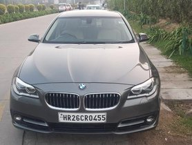 Used BMW 5 Series 520d Luxury Line AT car at low price in New Delhi