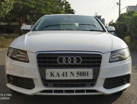 Used Audi A4 1.8 TFSI AT car at low price in Bangalore