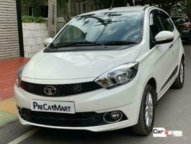 Used Tata Tiago 1.2 Revotron XZA AT car at low price in Bangalore