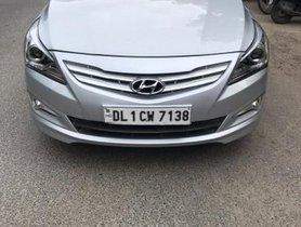 Used Hyundai Verna 1.6 SX VTVT AT car at low price in New Delhi