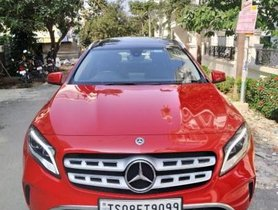 Mercedes Benz GLA Class AT 2017 in Hyderabad