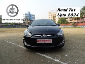 Hyundai Verna 1.6 EX VTVT 2014 MT for sale in Kolkata