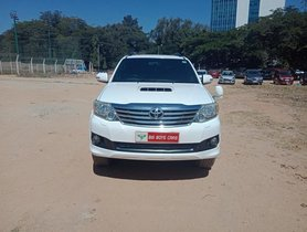 Used Toyota Fortuner 4x2 4 Speed AT TRD Sportivo at low price in Bangalore