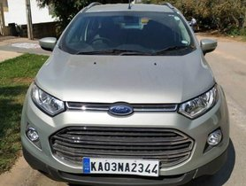 Ford EcoSport Version 1.5 Diesel Titanium Plus 2017 MT for sale in Bangalore
