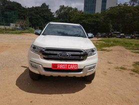 Used Ford Endeavour 3.2 Titanium AT 4X4 2017 for sale in Bangalore