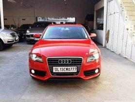 Used Audi A4 2.0 TDI Multitronic AT car at low price in New Delhi