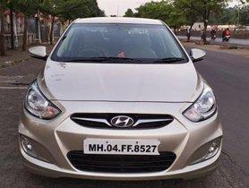 Hyundai Verna CRDi 1.6 SX MT 2012 in Pune